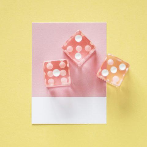 Dé en origami