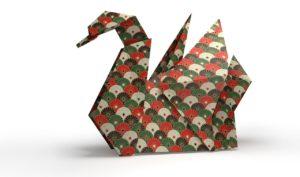 Cygne en Origami
