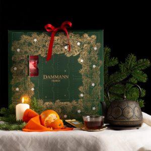 Le calendrier de l'avent thé Dammann Frères fait partie des plus beaux