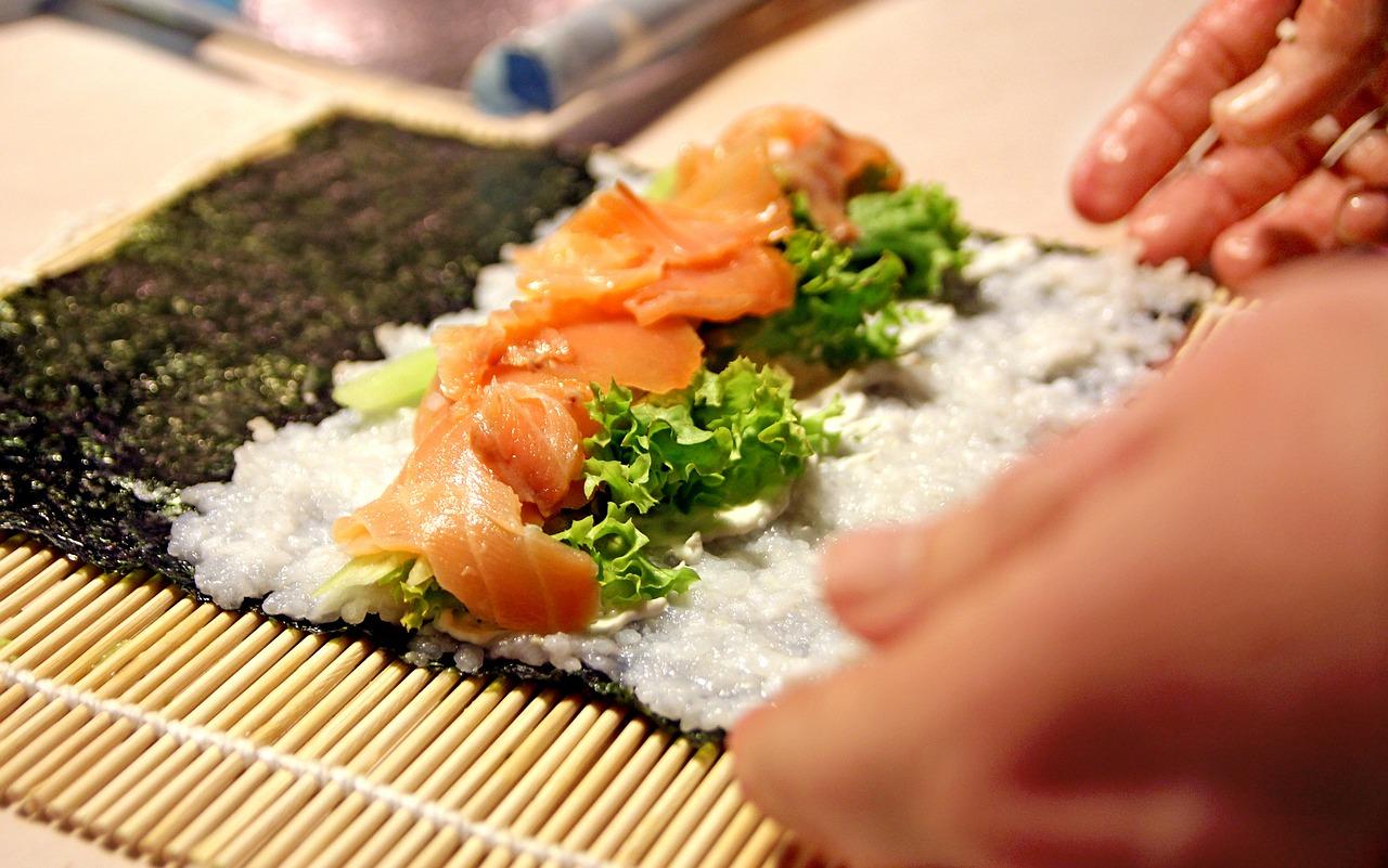 cuisiner des sushis