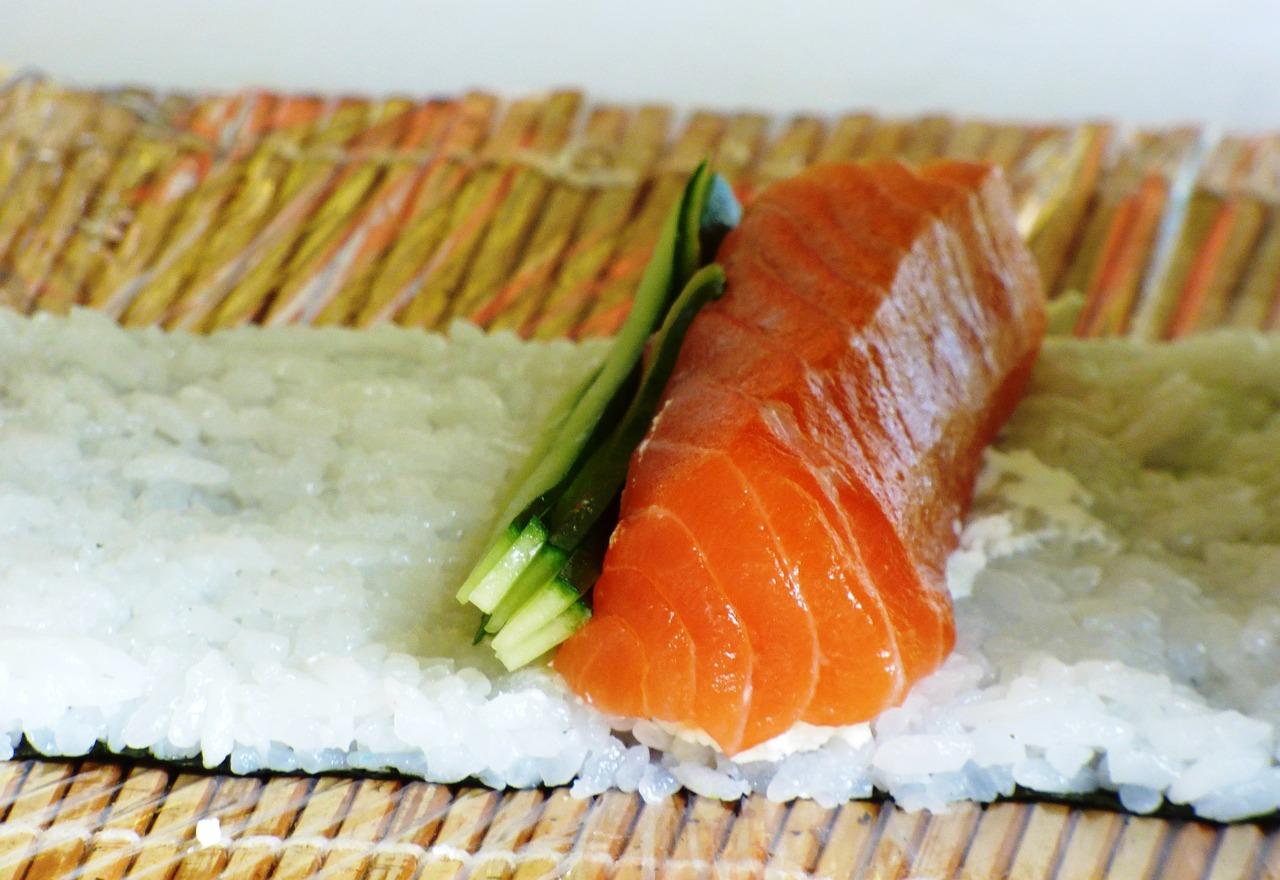 sushi déplié